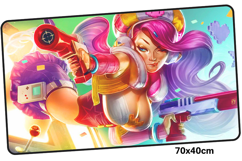 miss fortune mousepad gamer 700x400X3MM gaming mouse pad large Personality notebook pc accessories laptop padmouse ergonomic mat