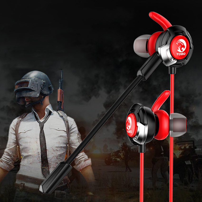 PUBG PS4 Earphone Bass Gaming Earphones Game Earphones with Mic for PC Mobile Ph