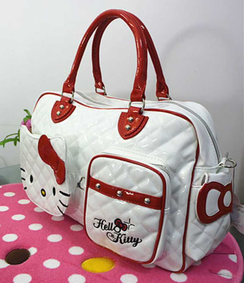 New Hello kitty Large Handbag purse Travel Shopping Tote Bag CC-2089. 01 02  03 ... 5a01004d62f4c