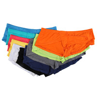 10PC Mens Sexy Boxer Shorts Modal Men Underwear Long Bulge Pouch Shorts Cuecas Boxers Men Underwear Sexy Lingerie Underpants