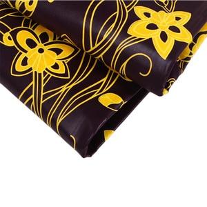 Image 3 - 100% Cotton Ankara African Printing Batik Fabric Real Wax Africa Tissu Sewing Material For Party Dress Artwork Craft DIY Textile