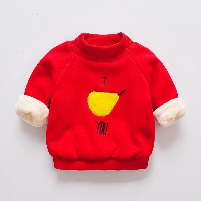 100% QualitäT Bibicola Bebe Warme Pullover Kinder Winter Baumwolle Verdicken Cartoon Oberbekleidung Kinder Baby Plus Samt Langarm Mäntel Kleidung