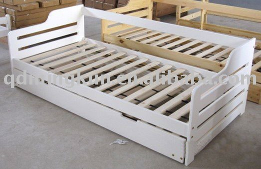 Pine Wooden Sofa Bed