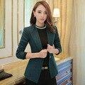 Autumn 2016 Women Blazers And Jackets Blazer Women blaser Slim Coat Casual One Button Outerwear Blazer Feminino
