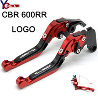 CBR600RR FOR HONDA CBR600RR CBR 600RR CBR 600 RR 2003 2018 Motorcycle Accessories Adjustable Folding Brake Clutch Levers