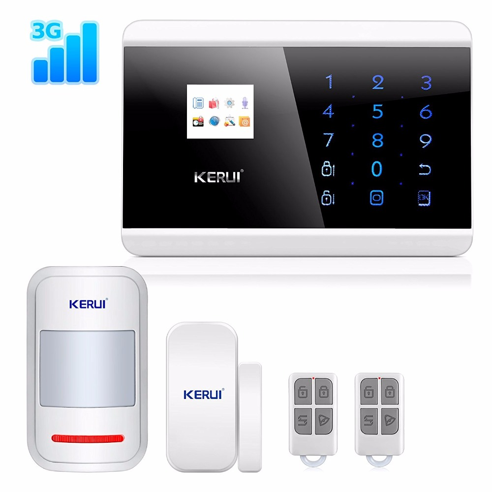 KERUI 3G Wireless Home Office Business Security Alarm System DIY Kit with Auto Dial KR-8219G цена