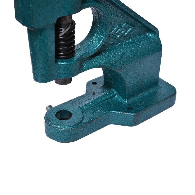 Metall Manuell Grommet Maskin Handpress Slipverktyg Eyelets Spot Snap - Slipande verktyg - Foto 2