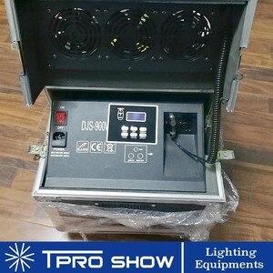 Image 4 - 900 W Hazer Rookmachine Dmx512 Dual Nozzle Fog Haze Podium Verlichting Effect In Flight Case Apparatuur DJ Club Bruiloft 600 W Rookmachine