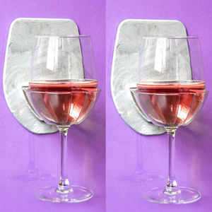 Image 4 - 1 قطعة حمام و دش حامل لاصق المحمولة العلبة ل البيرة النبيذ علب الزجاج واضح