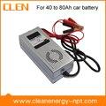 Desulfatación cargador de batería 12 V 5a, Full Auto cargador de coche digitales para batería de plomo con Digital LED Display