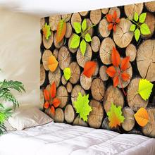 3D Round Wood Wall Hanging Tapestry Mandala Hippie Boho Tapestry Bohemian Beach Towel Annual Ring Tree Art Wall Carpets Blanket
