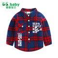 Meninos de Inverno de Algodão quente Roupas Camisas Dos Miúdos Meninas Camisas Para meninos Camisa Xadrez Camisa Do Bebê Da Menina do Menino das Crianças Tops Casuais blusa