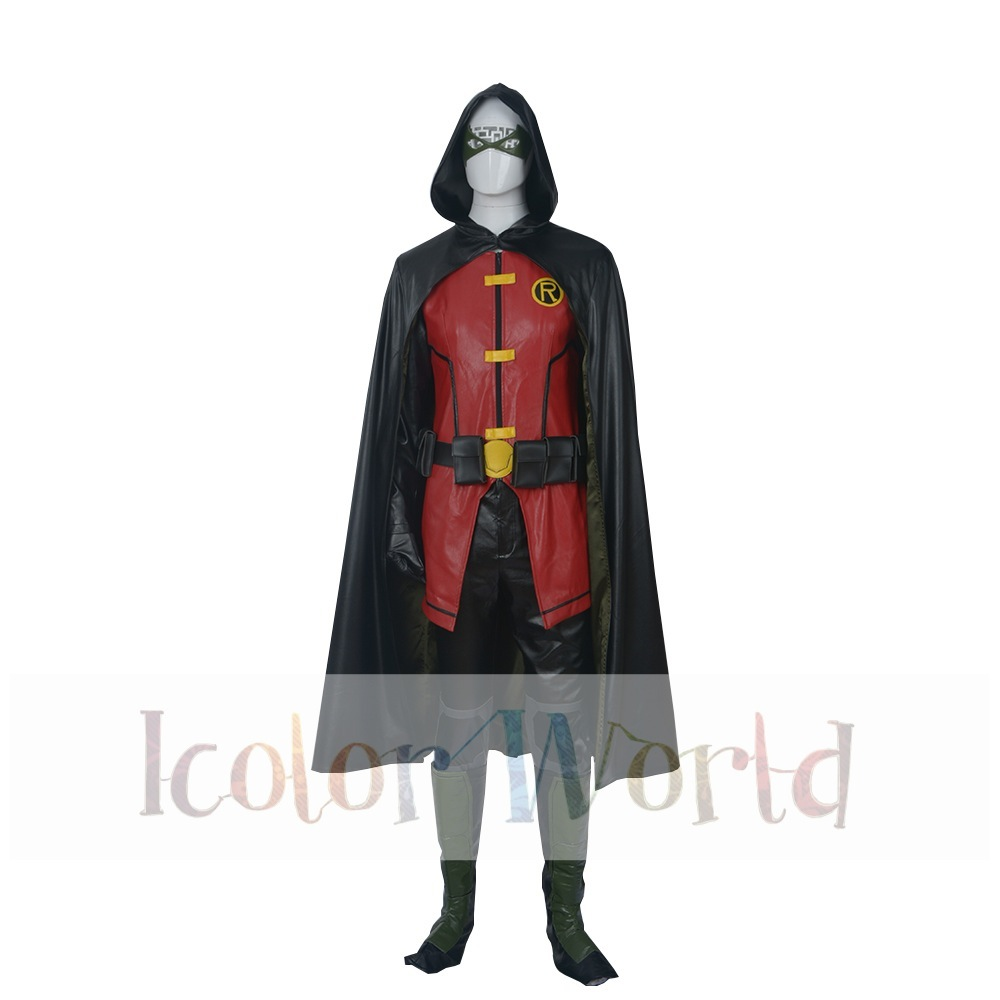 Justice League Vs Teen Titans Cosplay Costume-In Movie -3247