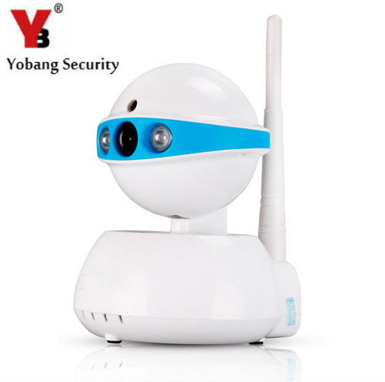 YobangSecurity 720P HD Mini WiFi Network IP Camera Baby Pet Monitor with Two Way Audio Motion Detection Mobile Viewing