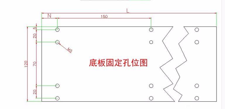 steel base board size