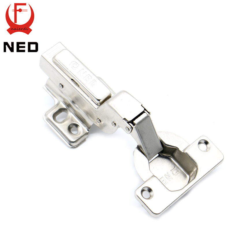 4PCS NED Full Size Strong 40MM Cup Iron Hinge 40MM Cup Hydraulic Hinges For Cabinet  Cupboard Door Hinges Furniture Hardware