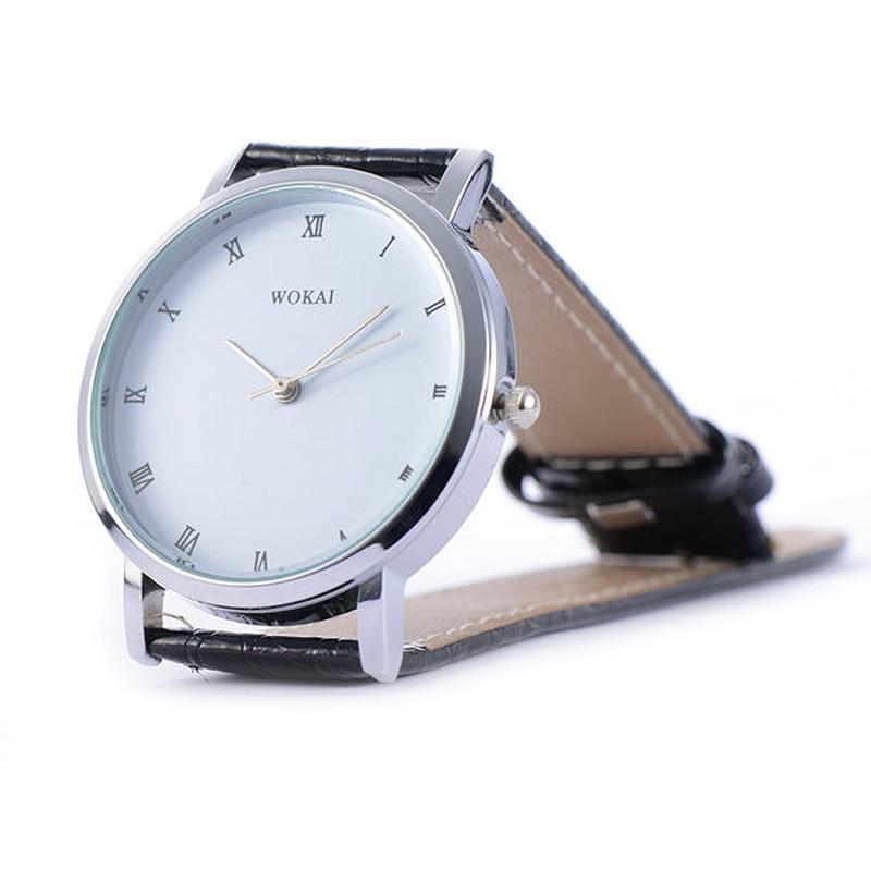 Men Women Simple Fashion Lover Quartz Watches Multifunctional Dress Watch Roman Numeral Dial Wristwatches Couple Watches