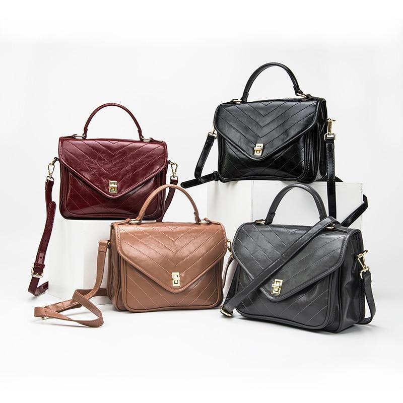 Genuine Leather Bags Women Handbags High Quality luxury Designer Shoulder Bags ladies 2019 Summer Women Messenger BagsGenuine Leather Bags Women Handbags High Quality luxury Designer Shoulder Bags ladies 2019 Summer Women Messenger Bags