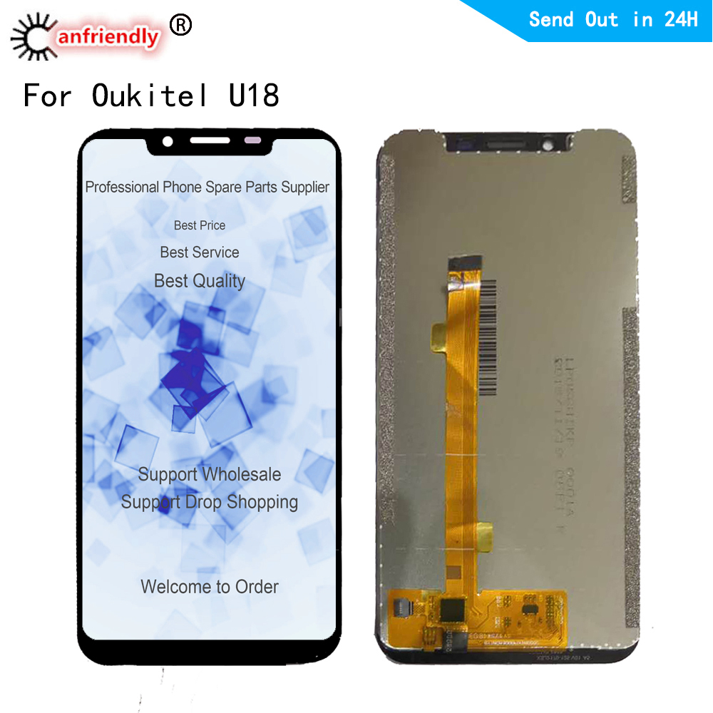 5.85 LCD Display For Oukitel U18 LCD display Touch panel Screen sensor monitor Digitizer assembly for Oukitel U18 lcds replace5.85 LCD Display For Oukitel U18 LCD display Touch panel Screen sensor monitor Digitizer assembly for Oukitel U18 lcds replace