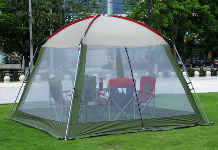 Alltel 4-6 person singler layer ultralarge sun shelter beach tent camping tent large gazebo luxury large indian singler layer 10persons outdoor camping tent with waterproof and anti wind traveling tent in good quality