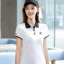 2019 new fashion Summe lovers polo shirt offer Womens Short Cotton Gift Simple Style Sleeve couple Shirt Colorful Brand Sale