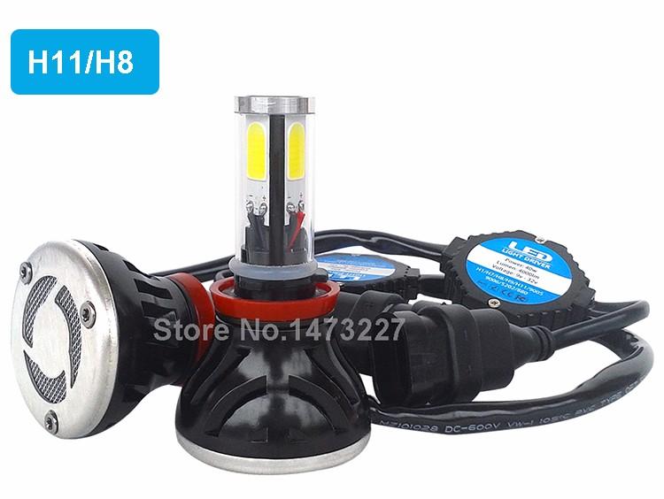 CNSUNNYLIGHT COB LED Headlight Kit H7 H11 H8 9005 HB3 9006 HB4 40W 4000LM Car Head Lamp Fog Light Replacement Bulb Play and Plug (9)