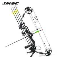 Dream Aluminum Alloy Compound Bow M120 with 20 70 Lbs Draw Weight Camo/Black Color for Human Archery Shooting Hunting