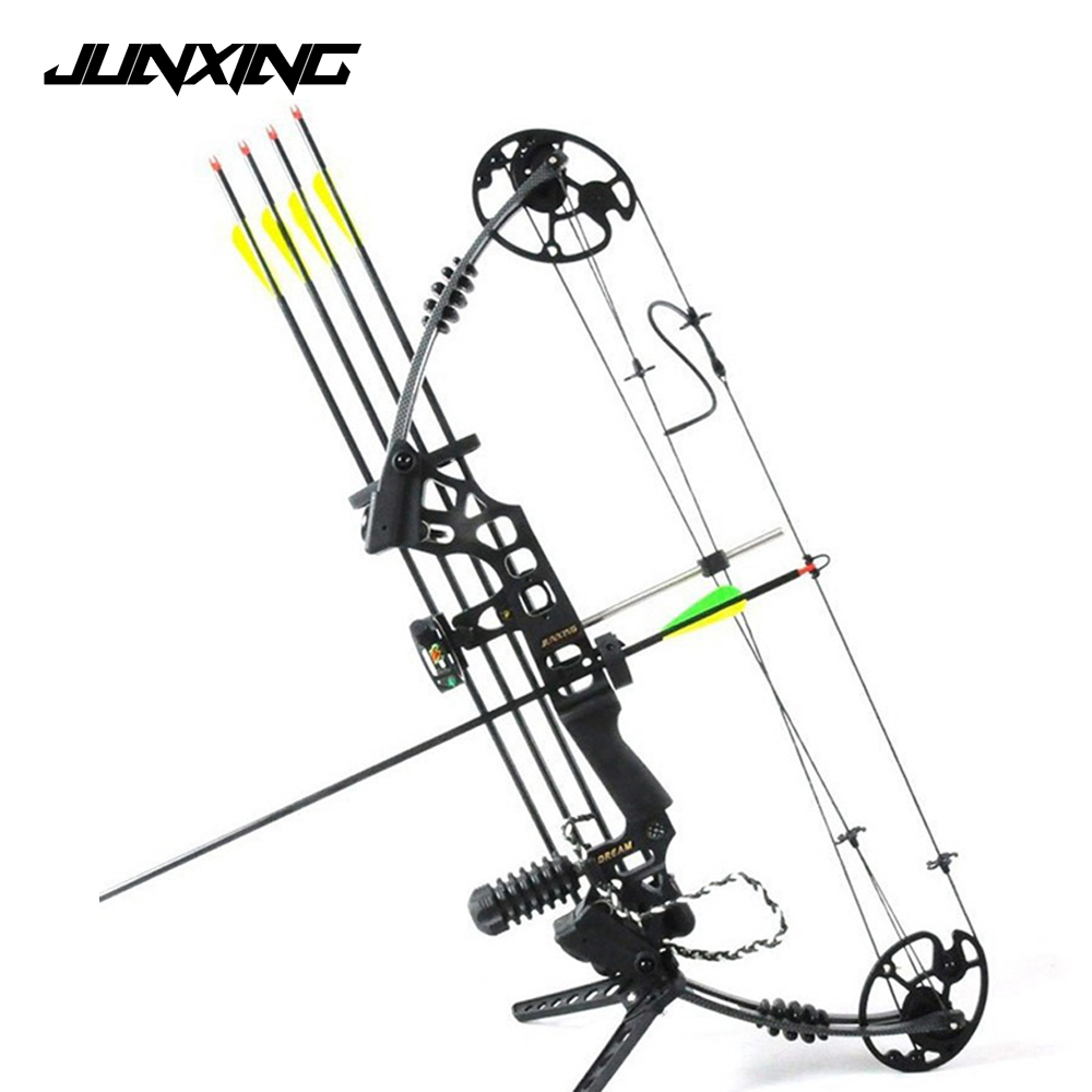 Dream Aluminum Alloy Compound Bow M120 with 20-70 Lbs Draw Weight Camo/Black Color for Human Archery Shooting Hunting скетчбук 30 листов dream and draw 1069016