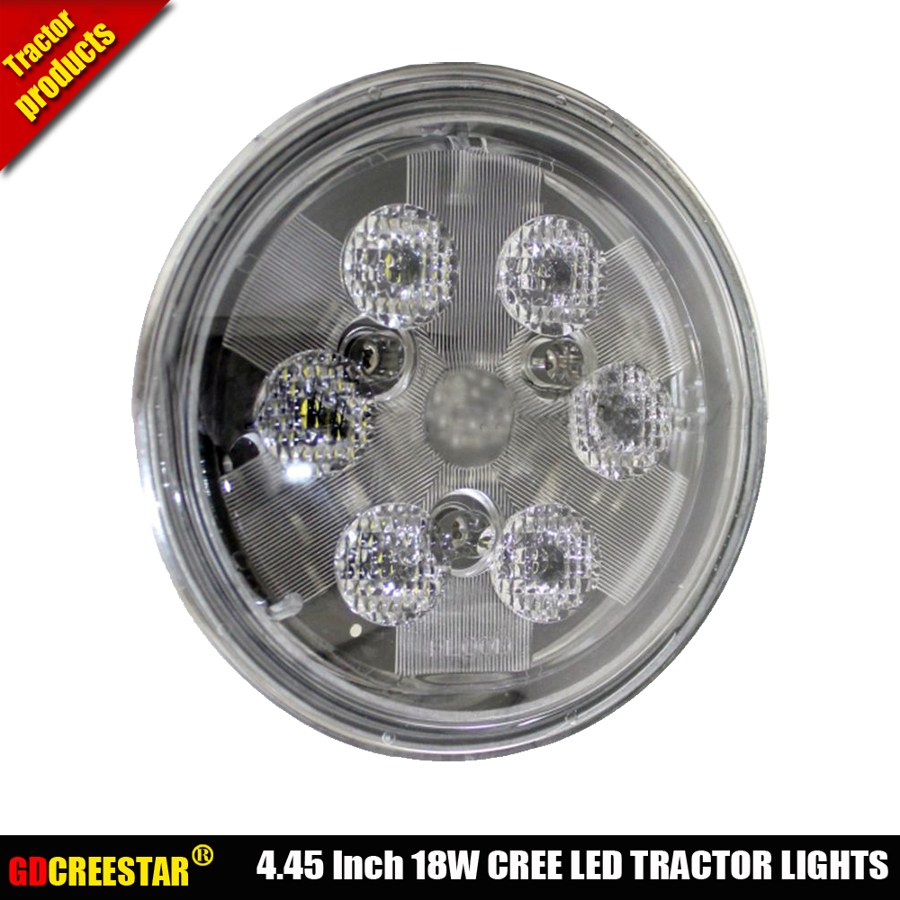 45 Inch 18w Par36 Led Work Lights For John Deere Tractor Case Ih 5 4 Ford Wiring Combines 1670 Massey Ferguson 180 Garden Tractors X1pc In Car Light Assembly From