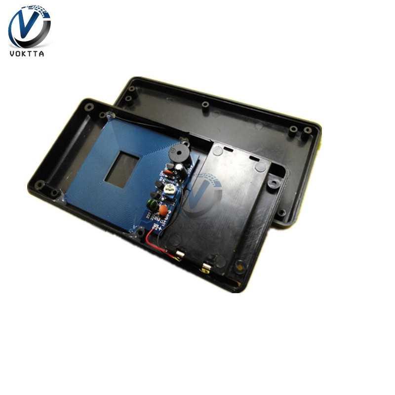 Wykrywacz metali Finder zestaw DIY DC 3 V-5 V czujnik elektryczny moduł indukcyjny z obudową Metal Tester zestaw detektywa część
