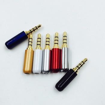 1 шт. 3,5 мм разъем аудио разъем 4 полюса Позолоченный разъем адаптера для наушников для DIY стерео гарнитура наушники для ремонта