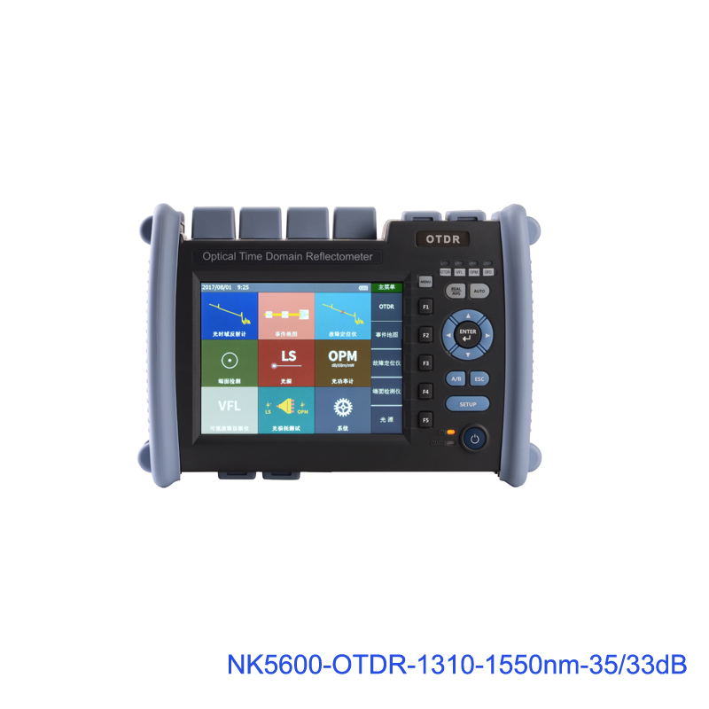 High Quality OTDR NK6000-SM-1310-1550nm-35/33dB Optical Time Domain Reflectometer with VFL 5MW Optical Power Meter Features