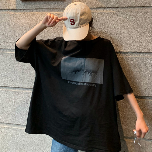 T-Shirts Women Korean Style...