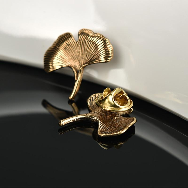 Mdiger Ancient Golden Metal Lapel Pin Wedding Mens Suit