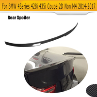 Carbon Fiber Rear Trunk Spoiler lip Wing For BMW 4 Series F32 F33 Coupe 2 Door Only 14 17 428i 435i NON