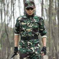 Açık Spor Askeri Kamuflaj Avcılık Giyim Erkekler Ceket Taktik Savaş Ceket Mens Ordu Tatico Ropa Hombre Camuflaje Caza