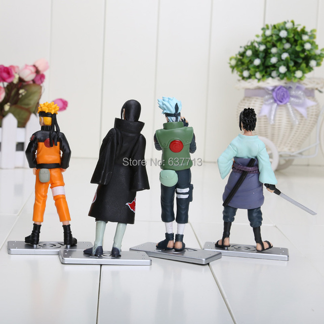 12cm Naruto Action Figure 4Pcs Set