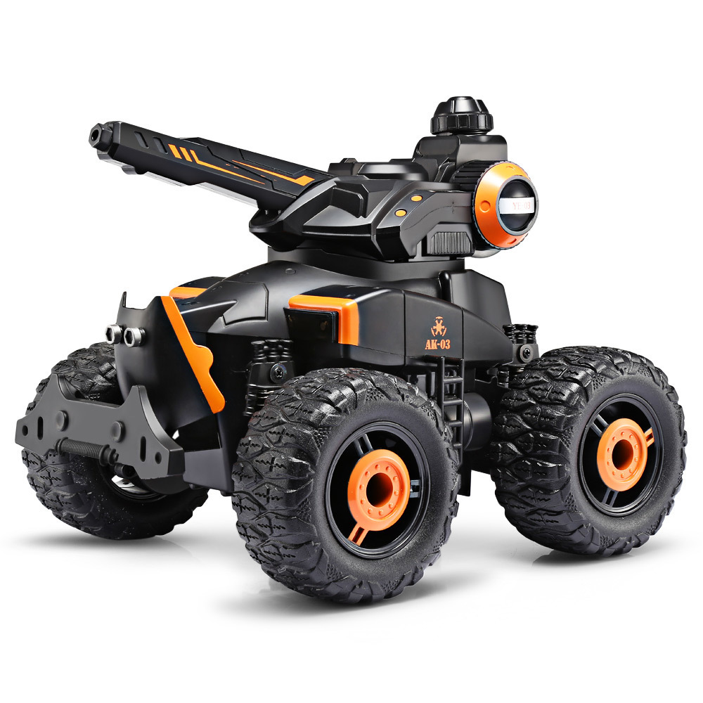 New Yed Water Jet RC Car 1:14 4 Wheel Off Road Stunt Remote Control Car Driving on Water and Land Amphibious Electric Car Toy