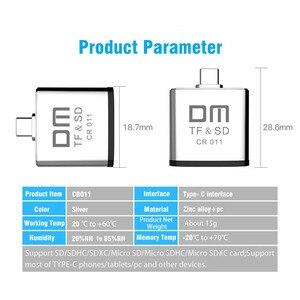 Image 5 - قارئ بطاقات نوع C لبطاقة مايكرو SD وبطاقة SD 2 في 1 USB C قارئ بطاقات CR011