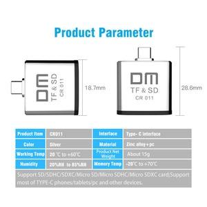 Image 5 - Loại C card reader cho Micro SD và thẻ SD 2 trong 1 USB C đầu đọc thẻ CR011