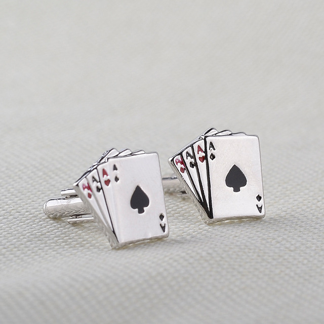 Exquisite Vintage Poker Cufflinks