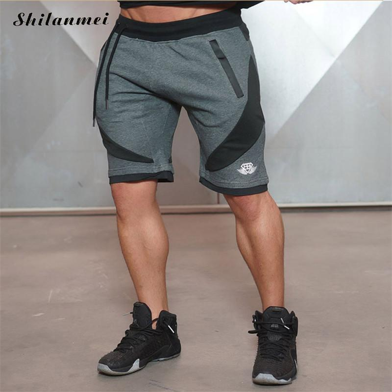 2018 new Summer Mens Shorts Sporgymt Casual Short brand clothing boys Shorts Men Jogger Trousers Knee Length Shorts