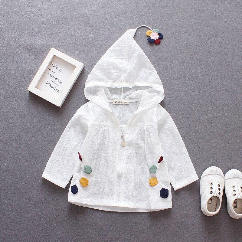 Baby Jacke Zeitlich begrenzte Rushed Strickjacke Infantil Mädchen Sonne Für Schutz Kleidung 2018 Sommer Koreanische kinder Kleine Blume