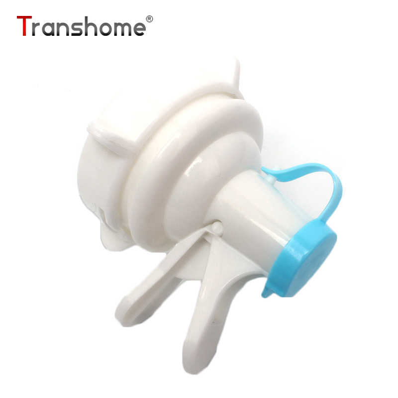 Transhome Water Bottle Valve Spigot Portable Replacement Bottle Top Valve Faucet Water Dispenser White Drink Tap For Outdoor Tap