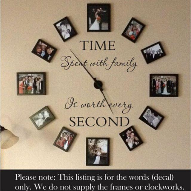 Aliexpress.com: Comprar Pared Decal familia etiqueta de la pared de ...