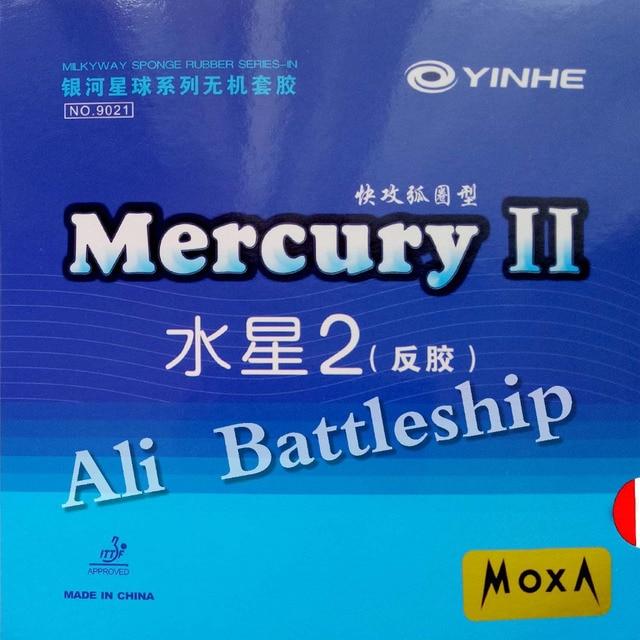 Original Yinhe Milky way Galaxy Mercury II Mercury2 pips-in table tennis pingpong rubber with sponge