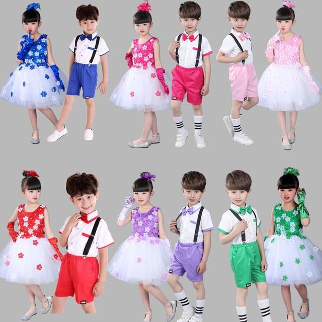 4e61503b5782 Child boys Music Dress Girls Ballroom Dress For Girl Kids Ballet ...