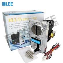 Мульти монетоприемник электронный рулон вниз монетоприемник Селектор Механизм для 6 различных значений монетоприемник стиральная машина
