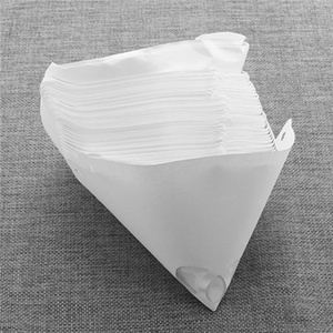 Image 2 - 50/100 Mesh Paper Paint Strainers Paper Paint Conical Strainers Mesh Filter Cone Strainer Funnel