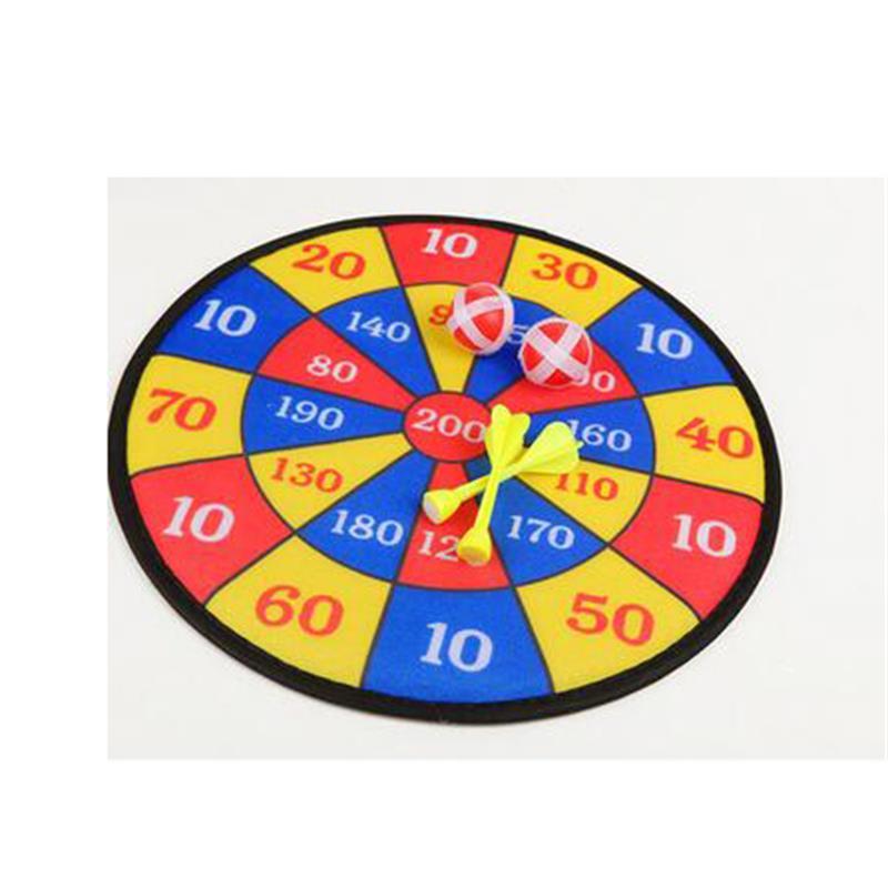 COLOR-TREE-Children-Cloth-Dart-Board-Set-Indoor-Game-Flocking-Dartboard-Self-adhesive-Dart-Soft-Dart-Board-Toys-for-Children-2